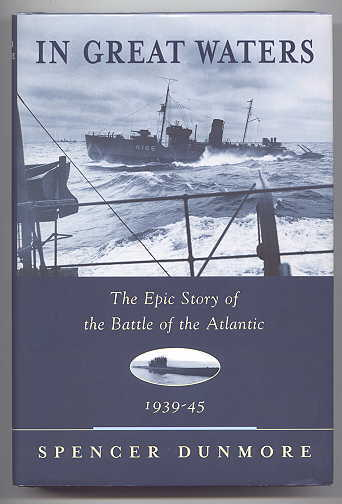 Image for IN GREAT WATERS:  THE EPIC STORY OF THE BATTLE OF THE ATLANTIC.