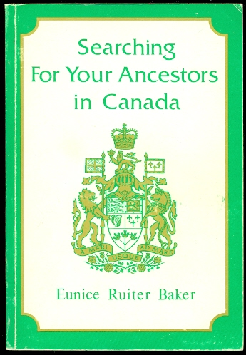 Image for SEARCHING FOR YOUR ANCESTORS IN CANADA.
