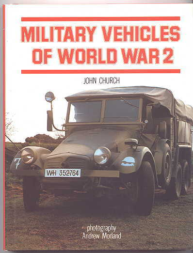 Image for MILITARY VEHICLES OF WORLD WAR 2.