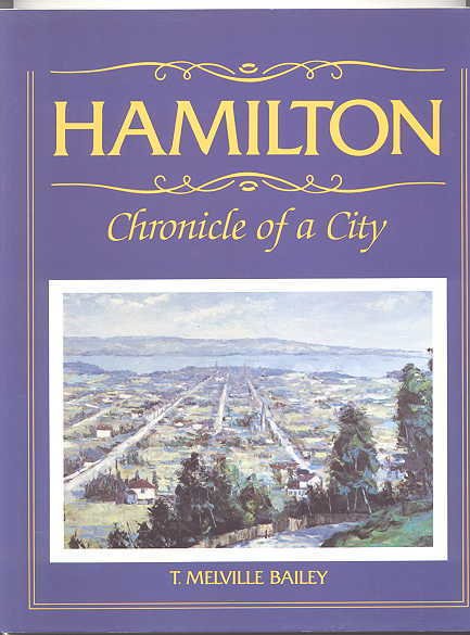 Image for HAMILTON:  CHRONICLE OF A CITY.