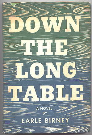 Image for DOWN THE LONG TABLE.