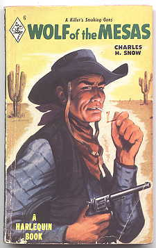Image for WOLF OF THE MESAS.  HARLEQUIN NO. 6.