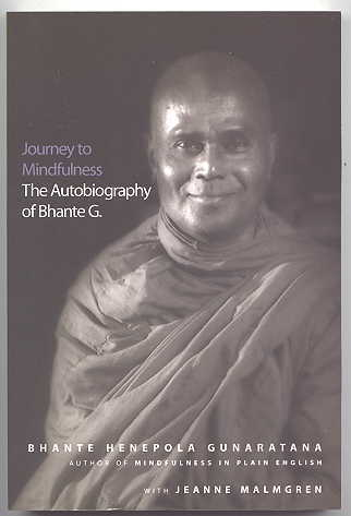 Image for JOURNEY TO MINDFULNESS:  THE AUTOBIOGRAPHY OF BHANTE G.