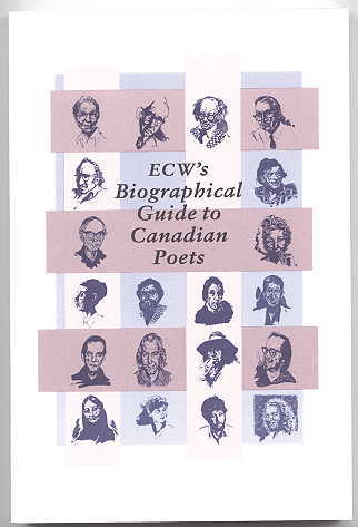 Image for ECW'S BIOGRAPHICAL GUIDE TO CANADIAN POETS.