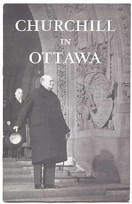 Image for MR. CHURCHILL IN OTTAWA.