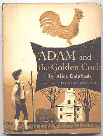 Image for ADAM AND THE GOLDEN COCK.