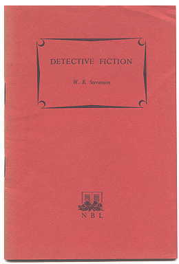 Image for DETECTIVE FICTION.  READER'S GUIDES.  THIRD SERIES.
