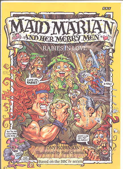 Image for RABIES IN LOVE.  MAID MARIAN AND HER MERRY MEN SERIES.