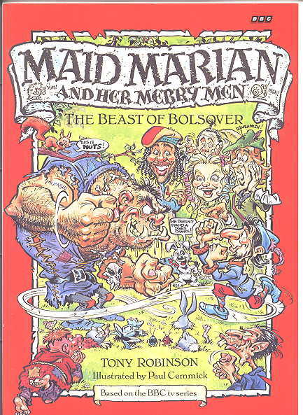 Image for THE BEAST OF BOLSOVER.  MAID MARIAN AND HER MERRY MEN SERIES.