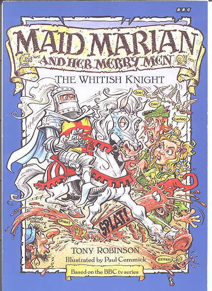 Image for THE WHITISH KNIGHT.  MAID MARIAN AND HER MERRY MEN SERIES.