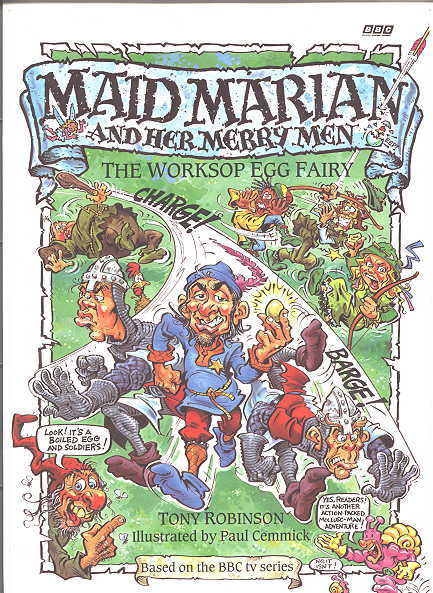 Image for THE WORKSOP EGG FAIRY.  MAID MARIAN AND HER MERRY MEN SERIES.