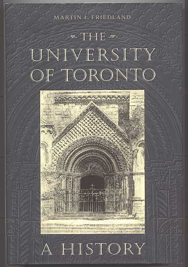 Image for THE UNIVERSITY OF TORONTO:  A HISTORY.