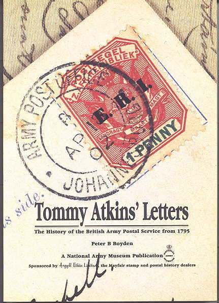 Image for TOMMY ATKINS' LETTERS: THE HISTORY OF THE BRITISH ARMY POSTAL SERVICE FROM 1795.