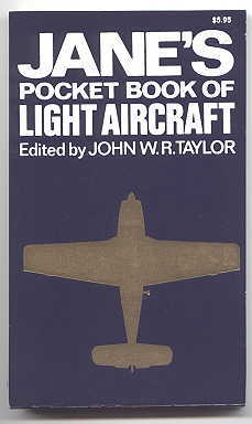 Image for JANE'S POCKET BOOK OF LIGHT AIRCRAFT.