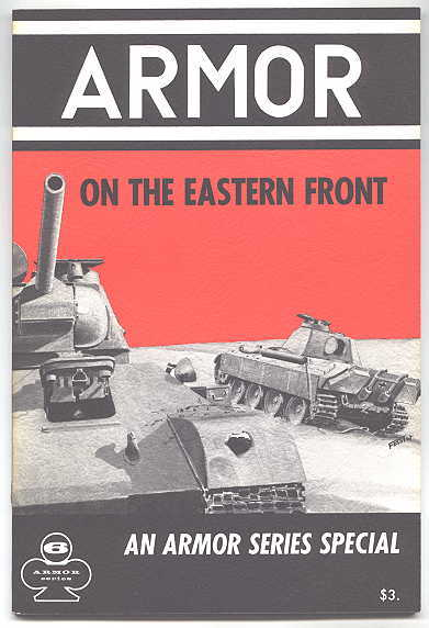 Image for ARMOR ON THE EASTERN FRONT.  ARMOR SERIES VOL. 6.