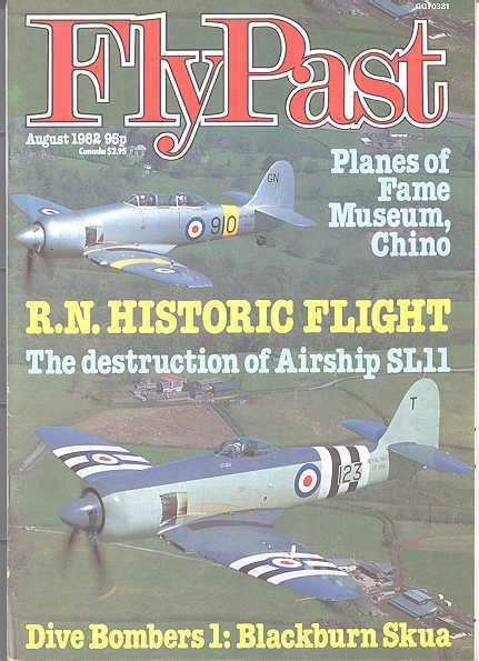 Image for FLYPAST.  NO. 13.  AUGUST 1982.  (FLY PAST.)