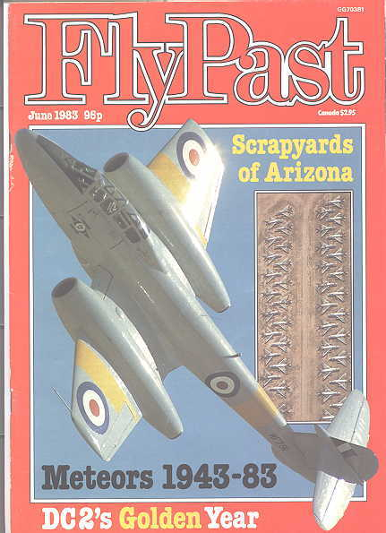 Image for FLYPAST.  NO. 23.  JUNE 1983.