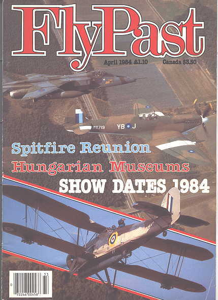 Image for FLYPAST.  NO. 33.  APRIL 1984.  (FLY PAST.)