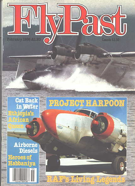Image for FLYPAST.  NO. 55.  FEBRUARY 1986.  (FLY PAST.)
