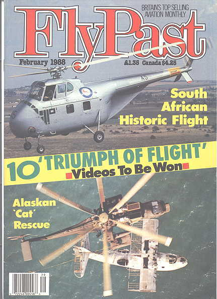 Image for FLYPAST.  NO. 79.  FEBRUARY 1988.