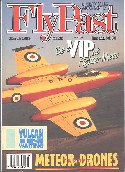 Image for FLYPAST.  NO. 92.  MARCH 1989.  (FLY PAST.)