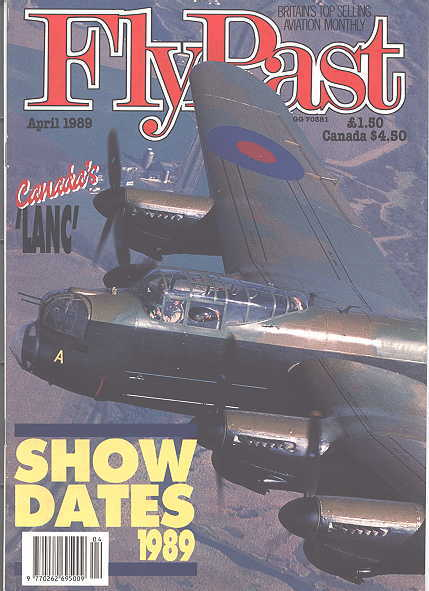 Image for FLYPAST.  NO. 93.  APRIL 1989.  (FLY PAST.)