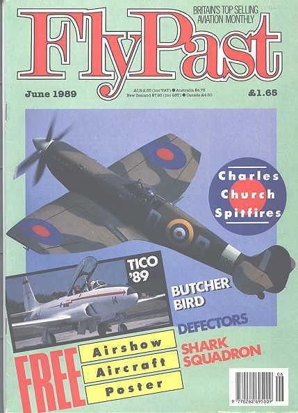 Image for FLYPAST.  NO. 95.  JUNE 1989.