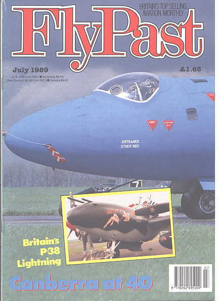 Image for FLYPAST.  NO. 96.  JULY 1989.  (FLY PAST.)