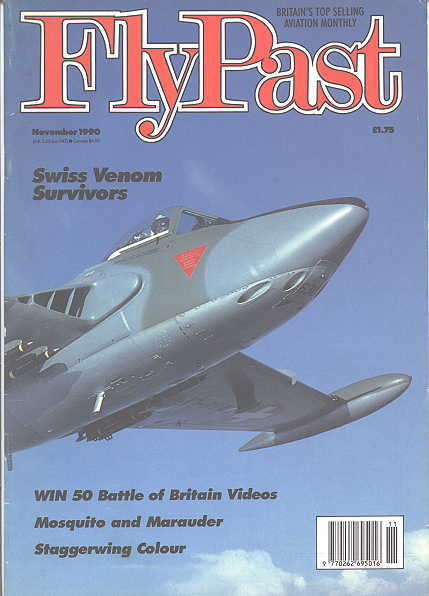 Image for FLYPAST.  NO. 112.  NOVEMBER 1990.  (FLY PAST.)