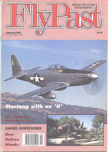 Image for FLYPAST.  NO. 115.  FEBRUARY 1991.  (FLY PAST.)