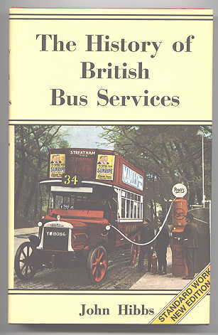 Image for THE HISTORY OF BRITISH BUS SERVICES.  2nd REVISED EDITION.