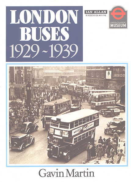 Image for LONDON BUSES 1929-1939.