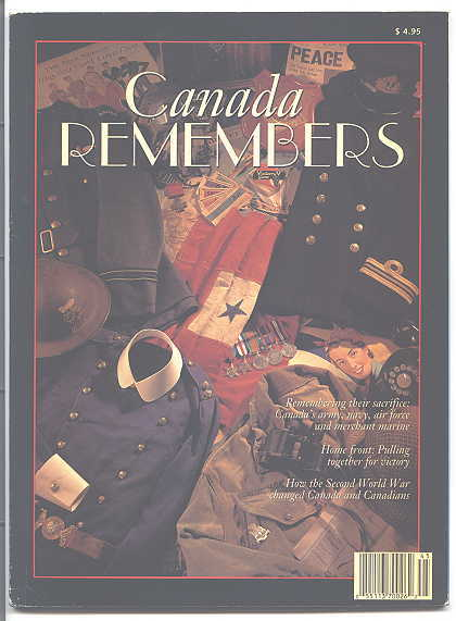 Image for CANADA REMEMBERS.