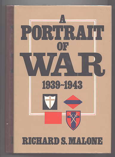 Image for A PORTRAIT OF WAR, 1939-1943 / A WORLD OF FLAMES, 1944-1945.  TWO VOLUMES.
