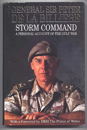 Image for STORM COMMAND:  A PERSONAL ACCOUNT OF THE GULF WAR.