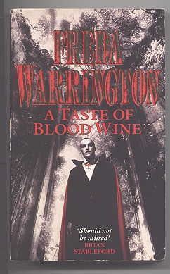 Image for A TASTE OF BLOOD WINE.