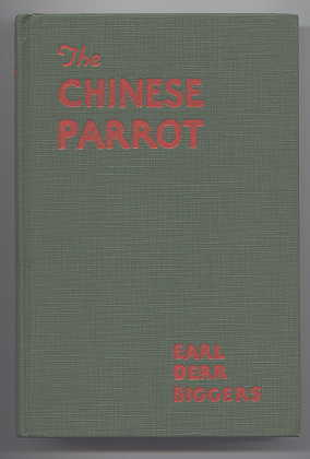 Image for THE CHINESE PARROT.