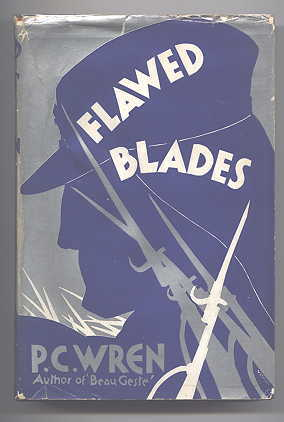 Image for FLAWED BLADES:  TALES FROM THE FOREIGN LEGION.