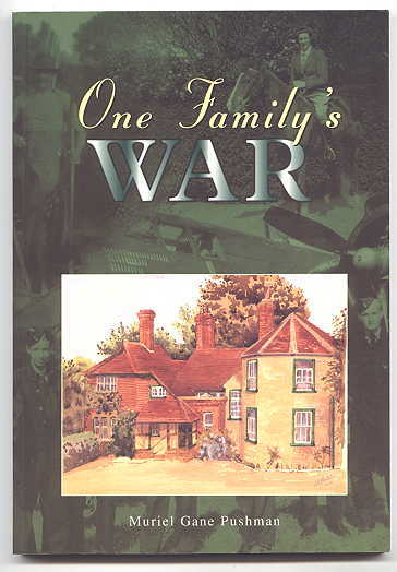Image for ONE FAMILY'S WAR.