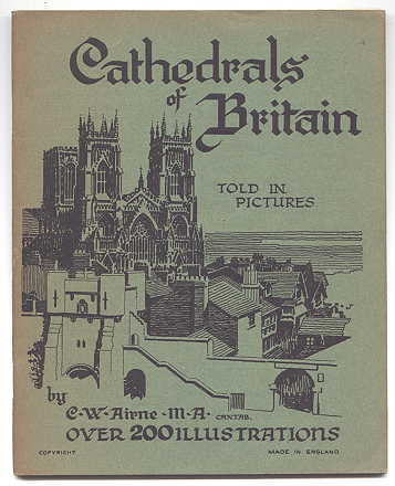 Image for CATHEDRALS OF BRITAIN.  TOLD IN PICTURES.
