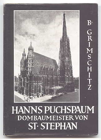 Image for HANNS PUCHSPAUM, DOMBAUMEISTER VON ST. STEPHAN.