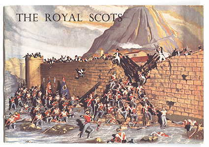 Image for THE ROYAL SCOTS (THE ROYAL REGIMENT):  HER MAJESTY'S FIRST REGIMENT OF FOOT.  AN ACCOUNT OF THE ROYAL SCOTS REGIMENTAL MUSEUM IN EDINBURGH CASTLE AND A BRIEF HISTORY OF THE REGIMENT.