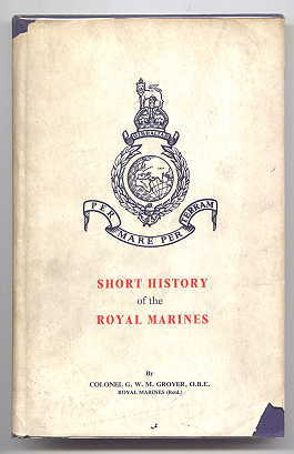Image for SHORT HISTORY OF THE ROYAL MARINES.