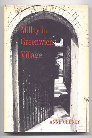 Image for MILLAY IN GREENWICH VILLAGE.