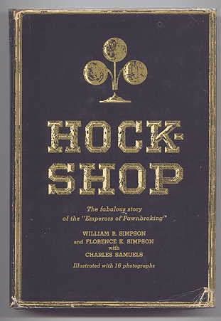 "Image for HOCKSHOP.  (THE FABULOUS STORY OF THE ""EMPERORS OF PAWNBROKING"".)"