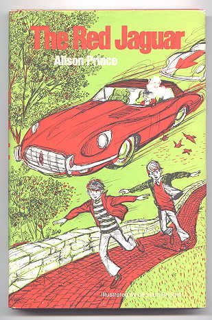 Image for THE RED JAGUAR.  (PUBLISHED IN ENGLAND AS 'THE RED ALFA'.)