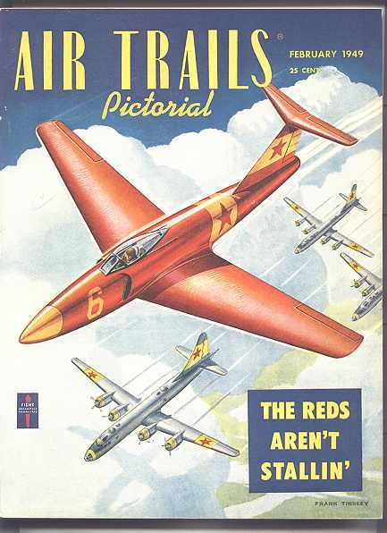 Image for AIR TRAILS PICTORIAL.  FEBRUARY, 1949.  VOL. XXXI, NO. 5.
