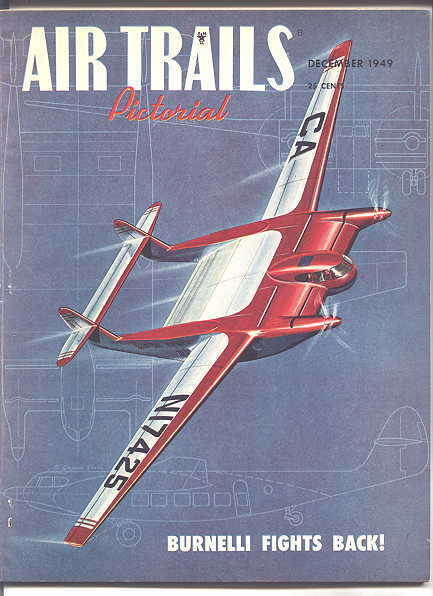 Image for AIR TRAILS PICTORIAL.  DECEMBER, 1949.  VOL. XXXIII, NO. 3.