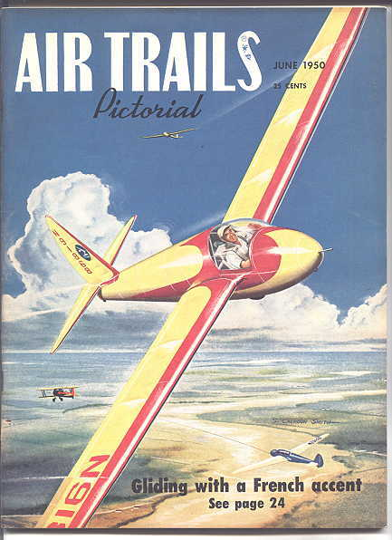 Image for AIR TRAILS PICTORIAL.  JUNE, 1950.  VOL. XXXIV, NO. 3.