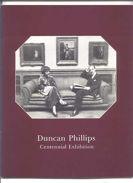 Image for DUNCAN PHILLIPS CENTENNIAL EXHIBITION.  JUNE 14 TO AUGUST 31, 1986.